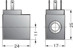 Катушки для пневмораспределителей серии K