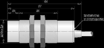 Датчик емкостной ВБЕ-Ц30-96У-2111-ЗА  / ВБЕ-Ц30-96У-2113-ЗА / ВБЕ-Ц30-96У-2121-ЗА / ВБЕ-Ц30-96У-2123-ЗА