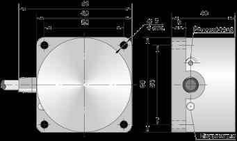 Емкостной датчик ВБЕ-Ф60-40У-2111-ЗА / ВБЕ-Ф60-40У-2113-ЗА / ВБЕ-Ф60-40У-2123-3А