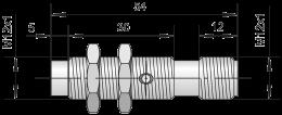 Датчик индуктивный ВБИ-М12-39Р-2111-Л / ВБИ-М12-39Р-2112-Л / ВБИ-М12-39Р-2121-Л