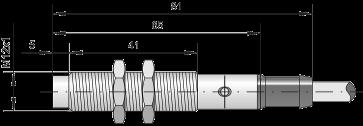 Датчик индуктивный ВБИ-М12-65С-2111-З / ВБИ-М12-65С-2112-З / ВБИ-М12-65С-2113-З / ВБИ-М12-65С-2121-З / ВБИ-М12-65С-2123-З