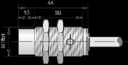 Индуктивный датчик ВБИ-М18-44У-2111-Л / ВБИ-М18-44У-2112-Л / ВБИ-М18-44У-2121-Л / ВБИ-М18-44У-2122-Л