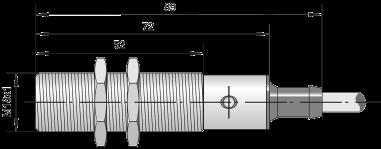 Индуктивный датчик ВБИ-М18-76С-1111-З / ВБИ-М18-76С-1112-З / ВБИ-М18-76С-1113-З / ВБИ-М18-76С-1121-З / ВБИ-М18-76С-1122-З / ВБИ-М18-76С-1123-З