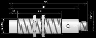 Индуктивный датчик ВБИ-М18-86Р-2111-З  / ВБИ-М18-86Р-2123-З