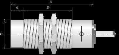 Индуктивный датчик метки ВБИ-Ц18-73У-1131-Л / ВБИ-Ц30-89У-2131-Л
