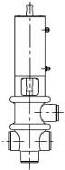 Конфигурация клапана типа L/T