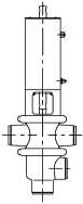Конфигурация клапана типа T/L