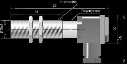 Оптический датчик ВБО-М18-76К-5111-СА / ВБО-М18-76К-5113-СА / ВБО-М18-76К-5123-СА
