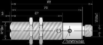 Оптический датчик ВБО-М18-76Р-8111-СА / ВБО-М18-76Р-8113-СА / ВБО-М18-76Р-8123-СА