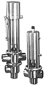 Пневматические клапаны для пищевой промышленности Eurobinox