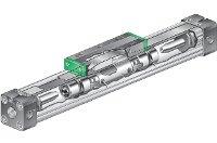 Бесштоковые цилиндры серии RLF